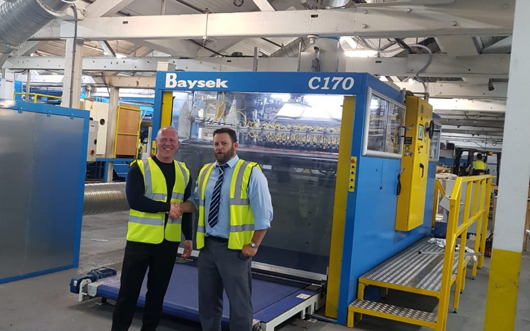 The Baysek C-170 Diecutter has opened doors into new areas previously left unexplored by Preston Board & Packaging