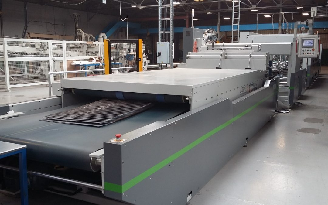 Manchester Paper Box install 2.1m Eterna Multi-Point Gluer